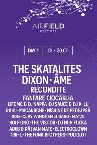 Airfield Festival Artisti ziua 1