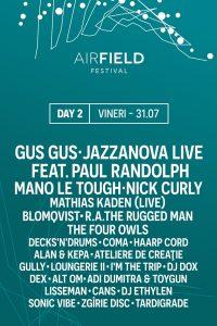 Airfield Festival Artisti ziua 2