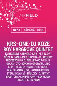 Airfield Festival Artisti ziua 3