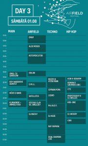 Airfield Festival program ziua 3