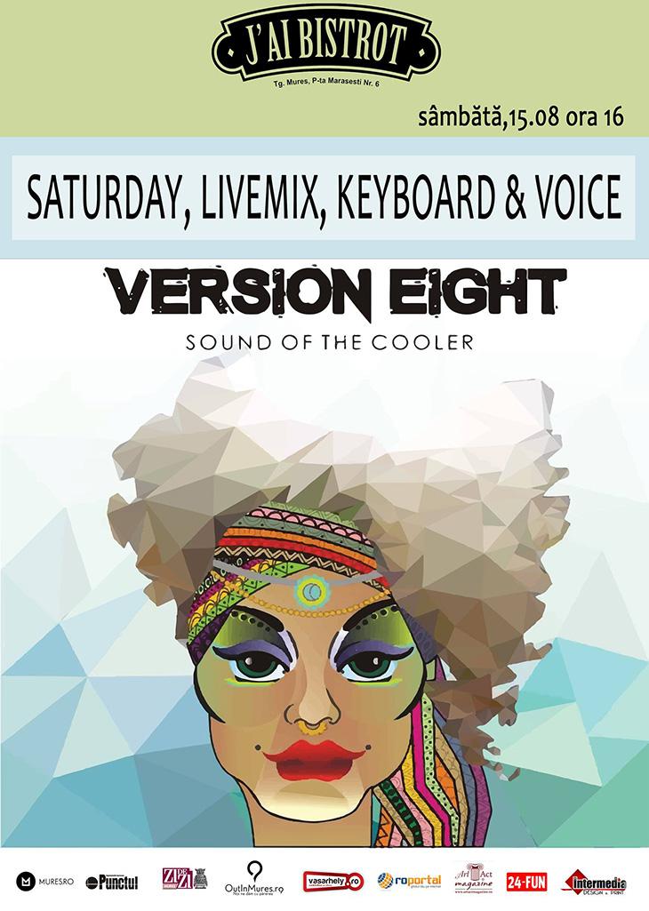 SATURDAY, LIVEMIX, KEYBOARD & VOICE