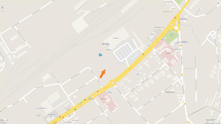 Harta Centru Comercial Gheorghe Doja