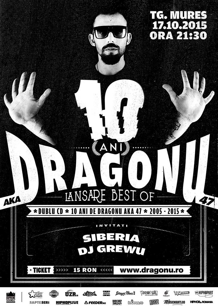 LANSARE DRAGONU AKA 47 - LIVE BEST OF 2005-2015