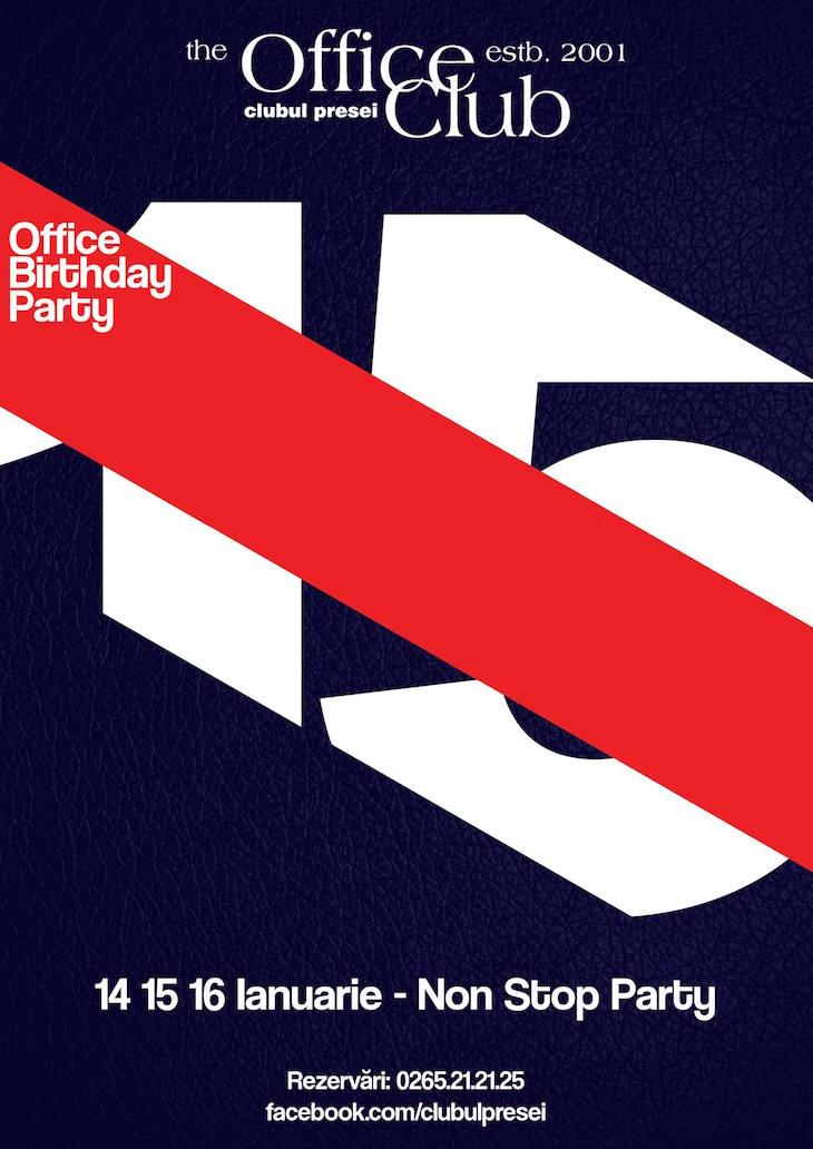 3 Day Party Marathon - Office 15 Ani