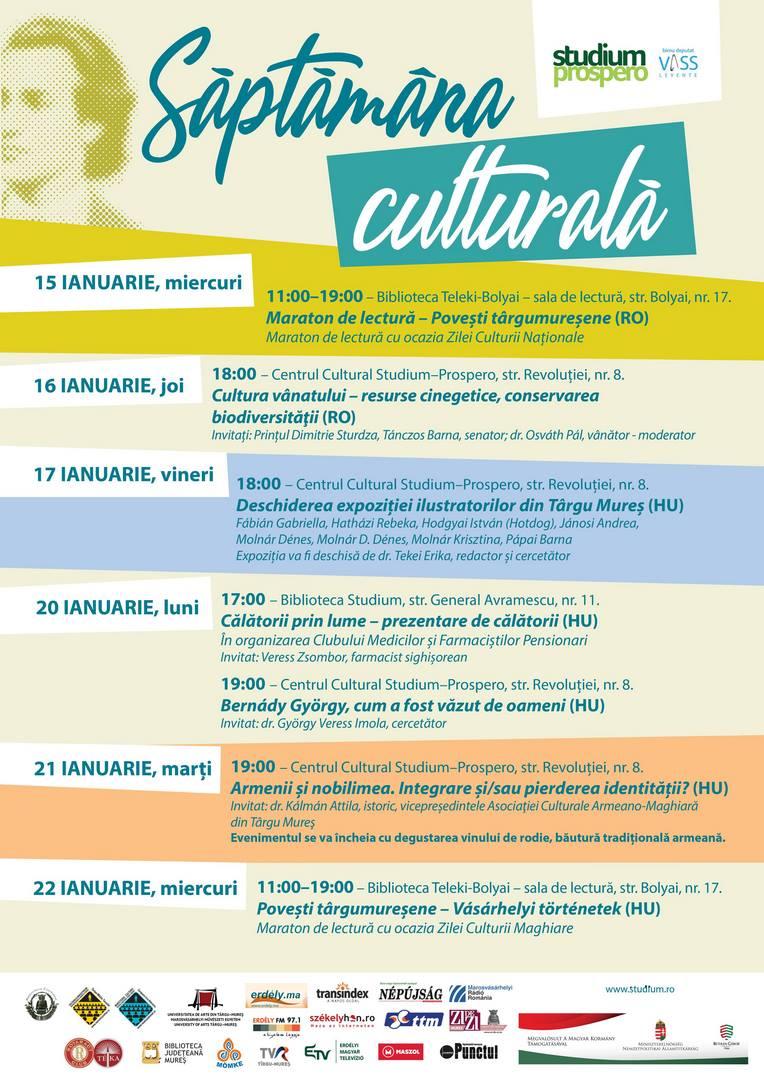 Saptamana culturala 2020
