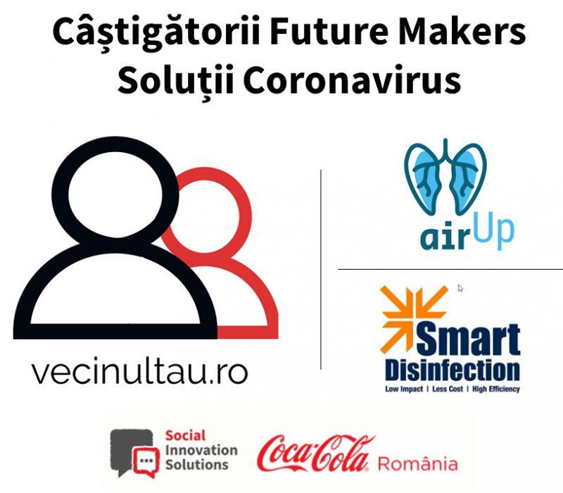 Câștigătorii Future Makers Solutii Coronavirus